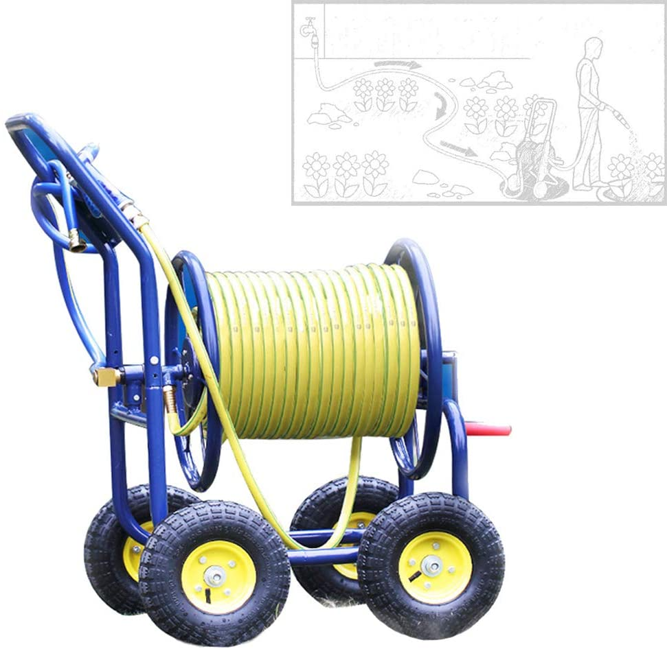 Dévidoir 4 roues Chariot